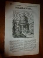 1835 LM : Bramante à Rome (et Grav);Ste-Geneviève;Combustion Humaine Spontanée;Prison Pour Dette En UK;Poisson Thymalle - Livres, BD, Revues