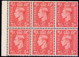 Great Britain 1951 King George VI Pane 507c - 1902-1951 (Re)