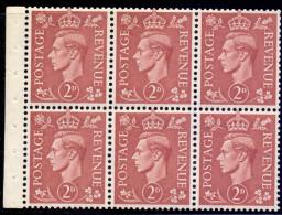 Great Britain 1951 King George VI Pane SG 506d - 1902-1951 (Re)