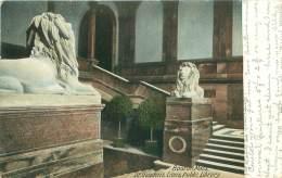 BOSTON - Public Library - St. Gauden's Lions - Boston