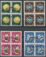 1334 - 1948 OLYMPIADE ST. MORITZ - Gestempelte Serie - Suisse