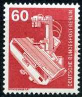 A11-10-7) Berlin - Michel 582 - ** Postfrisch (A) - 60Pf  Industrie Und Technik II - Ungebraucht