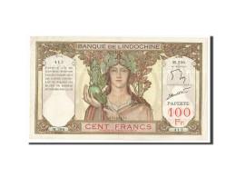 Tahiti, 100 Francs, 1961-1965, KM:14d, Non Daté, TTB - Indochine