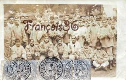 (51) Mourmelon Le Grand Camp De Chalons - Corvée De Patates - Carte Photo Soldats Militaires Militaria - 2 SCANS - Mourmelon Le Grand