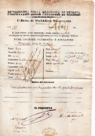 1875  LETTERA CON ANNULLO BRESCIA - 1861-78 Vittorio Emanuele II