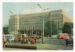 Pologne--1974--VARSOVIE--Dom Partii (très Animée,autocars,tramway)  14 X 10 - Pologne