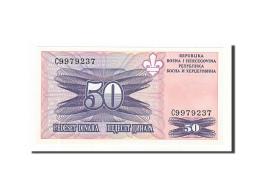 Bosnia - Herzegovina, 50 Dinara, 1995, KM:47, Non Daté, NEUF - Bosnia And Herzegovina