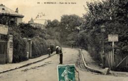 62 WIMEREUX  Rue De La Gare Animée Hotel De Paris - France