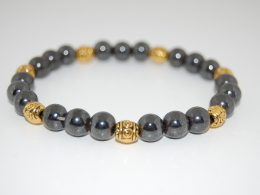 Handmade Beaded Bracelet,Elastic Fit All,Spirituality Bracelet,Mala,Pray,Yoga,Man,Woman,Boho,Folk,Meditation,Man,Woman - Bracciali