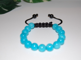 Gemstone Bracelet,Shamballa Style,Spirituality Bracelet,Mala,Pray,Yoga,Man,Woman,Boho,Folk,Meditation,Man,Woman - Bracelets