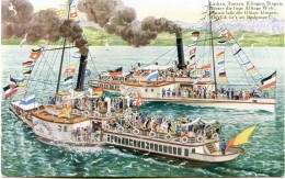 Bodensee Schiff Dampfschiff - Weber & Co - Ships