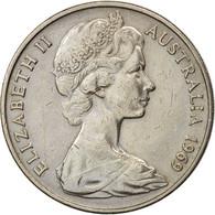 Australie, Elizabeth II, 20 Cents, 1969, TTB, Copper-nickel, KM:66 - Monnaie Décimale (1966-...)