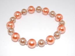 Colorful Glass Pearl Bracelet , Boho Chic Jewelry , Boho Bracelet Fashion Jewelry Rustic Jewelry Women's Jewelry Pretty - Bracelets