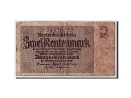 Allemagne, 2 Rentenmark, 1937, KM:174b, 1937-01-30, B - [ 3] 1918-1933 : République De Weimar