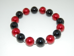 Colorful Glass Pearl Bracelet , Boho Chic Jewelry , Boho Bracelet Fashion Jewelry Rustic Jewelry Women´s Jewelry Pretty - Bracelets