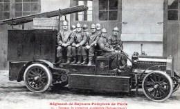 PARIS:    Régimen Des Sapeurs Pompiers D PARISLe Forgon De Protection Automobile( Salvage-Corps),en 1908,tbon étatr - Artisanry In Paris
