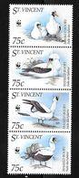 (WWF-184) W.W.F. Saint Vincent Masked Booby / Bird MNH Stamps 1995 - W.W.F.