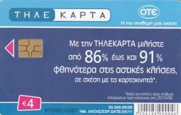 Telefonkarte Griechenland Chip - Greece