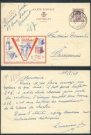 AA293 Entier Illustré De Dinant à Farciennes 1949 - Enteros Postales