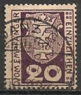 Timbres - Allemagne - Etranger - Dantzig - Service - 1921-1923 - 20 P. -