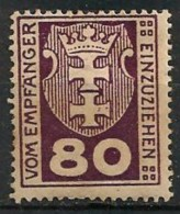 Timbres - Allemagne - Etranger - Dantzig - Service - 1921-1923 - 80 P. -