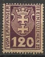 Timbres - Allemagne - Etranger - Dantzig - Service - 1921-1923 - 120 P. -
