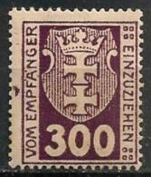 Timbres - Allemagne - Etranger - Dantzig - Service - 1921-1923 - 300 P. -