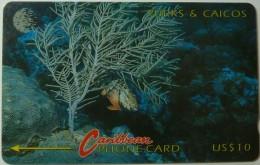 TURKS & CAICOS - GPT - 6CTCA - $10 - T&C-6A - Redband Parrotfish - Used