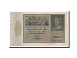 Allemagne, 10,000 Mark, 1922, KM:70, 1922-01-19, TTB+ - [ 3] 1918-1933 : République De Weimar