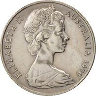 Australie, Elizabeth II, 20 Cents, 1970, TTB+, Copper-nickel, KM:66 - Monnaie Décimale (1966-...)