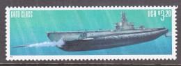 "US  3377   **    SUBMARINE  ""GATO  CLASS "" - Submarines"