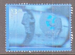 US  3411a   **    SPACE  HOLOGRAM - United States