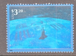 US  3411 B   **    SPACE  HOLOGRAM - United States