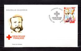 """NOUVELLE CALEDONIE 2000 : Enveloppe 1er Jour """" HENRI DUNANT """" N° YT 830. Parfait état. FDC"""