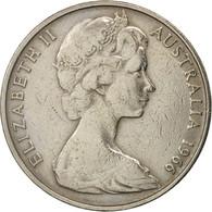 Australie, Elizabeth II, 20 Cents, 1966, TTB, Copper-nickel, KM:66 - Monnaie Décimale (1966-...)