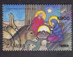 Zambie. Noël Surchargé Nativité - Zambie (1965-...)