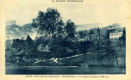 7645 - Barberaz, Bourg Autour De L'Eglise, Au Fond Le Granier (environ De Chambéry) - France