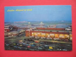 London Airport At Dusk - Aerodrome
