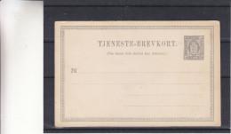 Danemark - Carte Postale De 1888  ? - Entier Postal - 1864-04 (Christian IX)