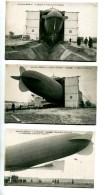 THMS1 Aviation Dirigeables, Le Patrie. Série De 10 Cartes Aviation Militaire, Moisson Dans Les Yvelines - Dirigeables