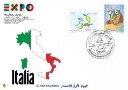 Algeria 1703/4 World Expo Milano 2015 Italia - 2015 – Milano (Italia)
