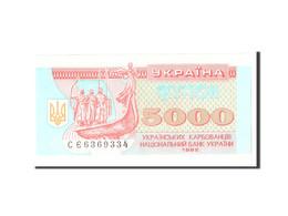 Ukraine, 5000 Karbovantsiv, 1995, KM:93b, Undated, NEUF - Ukraine