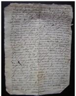Cervieres 1780 (Loire)   Document Concernant Guillaume Bertrand  (Noirétable) - Manuscrits