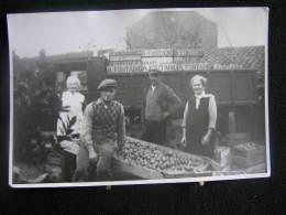 K-n°208 /  Liège - Amay,  Grand Photo De La Famille   A. Fontaine, Commerçant D´Ampsin - Forma 18 X 12 Cm . - Amay