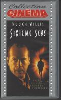 Fillm VHS  SIXIEME SENS Avec Bruce WILLIS - Action, Aventure