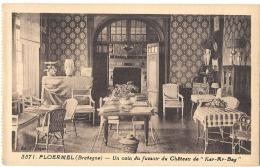 PLOERMEL  Ker Ar Beg  Le Chateau Un Coin Du Fumoir  Neuve TTB - Ploërmel