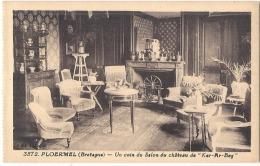 PLOERMEL  Ker Ar Beg  Le Chateau Un Coin Du Salon  Du Chateau Neuve TB (angle) - Ploërmel