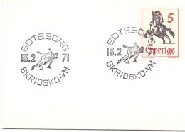 GOTEBORG  ICE SKATING 1971  (M160154) - Pattinaggio Artistico