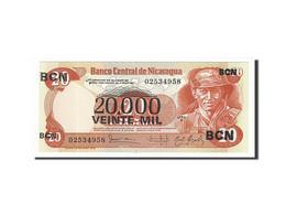 Nicaragua, 20,000 Cordobas On 20 Cordobas, 1987, KM:147, 1987, NEUF - Nicaragua