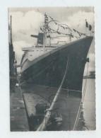 Le Havre (76) :  La Proue Du Paquebot France De La CGT Amarré Quai Joannès Couvert  Env 1961 (animée) GF. - Portuario